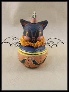 Howling Bat Candy Bowl