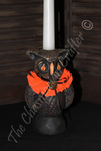 Isaac the Owl Candleholder