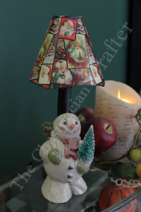 Candy Container Snowman Accent Light  (SALE)