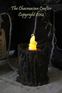Primitive Tavern Candle